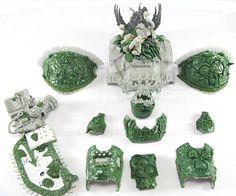 WIP Nurgle Imperial Knight #WIP #workinrogress #miniatures #sculpting #miniatures #greenstuff #gamesworkshop #wellofeternity