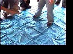 Maze teambuilding game