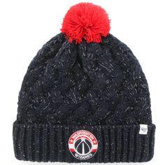 d84bce1d660e7 Washington Wizards  47 Brand Women s Fiona Cuff Knit Hat - Black