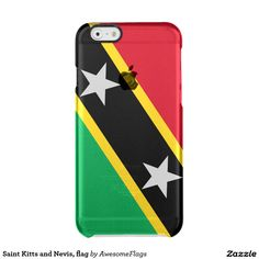 Saint Kitts and Nevis, flag iPhone 6 Plus Case