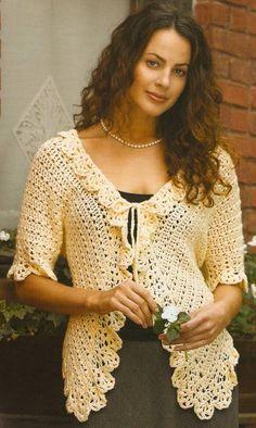 Romantic Cardi, Vintage Styles Updated