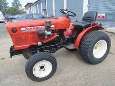 This is a Yanmar Compact Tractor in very good condition. Manual Gears with high and low in each. Yanmar Tractor, Used Engines, Compact Tractors, Classic Tractor, Outdoor Tools, Repair Manuals, Kubota, Things To Sell, Art