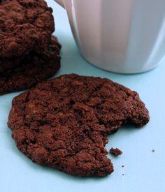 Ultimate Low Fat Brownie Cookies - My Vegan Cookbook - Vegan Baking Cooking Recipes Tips