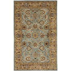 Safavieh Heritage Collection HG958A Handmade Blue and Gold Hand-Spun Wool Area Rug, 6-Feet by 9-Feet Safavieh http://www.amazon.com/dp/B004JX1Q0C/ref=cm_sw_r_pi_dp_w91Sub1G23CSW