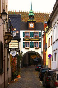 All things Europe ... Rudesheim, Germany by Diann Corbett