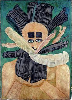 Musgrave Kinley's outsider art makes me feel like the world is full of wonder.