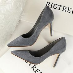 Women's Classic Slim Pointed High Heels