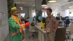 clown fete  pour philippe    partyvog.qc.ca 514 255-5055 Animation, Fashion, Entertainment, Moda, Fashion Styles, Fashion Illustrations, Fashion Models, Animated Cartoons, Cartoons