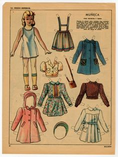 78.2749: Muneca   paper doll   Paper Dolls   Dolls   Online Collections   The Strong