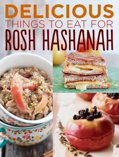 27 Sweetest Treats For Rosh Hashanah.  Although I'm not Jewish, all this stuff sounds really good and Fall festive