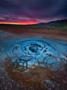 An Eye in the Earth (Volcanic activity around Krafla, Iceland) by Samuel Feron Nature Artwork, Nature Photos, Clash Royale, Mother Earth, Mother Nature, Cool Pictures, Beautiful Pictures, Earth From Space, Android