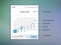 Date Picker or Calendar