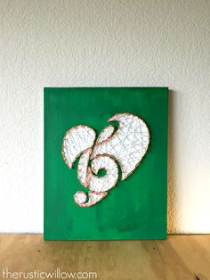 Music Note String Art Music Art Gifts for by TheRusticWillows