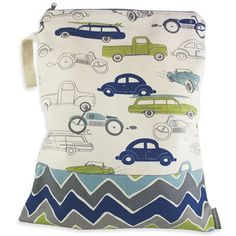 Logan + Lenora Classic Wet Bag - Diaper Accessories - Cotton Babies Cloth Diaper Store #cottonbabies