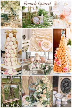 French Wedding Decor and Inspiration