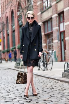Dress: Blaque Label. Shoes: Giuseppe Zanotti (old). Purse: Valentino. Jacket: Zara. Sunglasses: Dior. Lips: Make Up Forever Professional #40. Jewelry: David Yurman, Jcrew, Hermes, Pomellato.