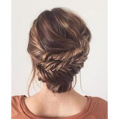 60 Updos for Thin Hair That Score Maximum Style Point ❤ liked on Polyvore featuring beauty products, haircare and hair styling tools