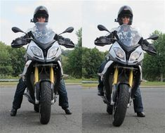 5 tips for short motorcycle riders handling tall bikes lean left