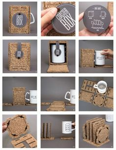 INVENT by Melissa Rosenbloom, via Behance #packaging #eco #gogreen