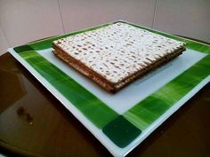 Check out this item in my Etsy shop https://www.etsy.com/il-en/listing/594457145/passover-giftgreen-and-beige-glass
