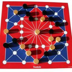 Tonkin – das traditionelle Brettspiel. Vorstellung + Spielanleitung