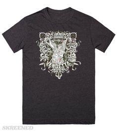 KRW Avenging Angel Vendetta T-Shirt | Gothic angel ready for vengance #Skreened