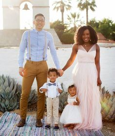 Adorable. @vmarie401 and her beautiful family.  #africansweetheartweddings #family #cutekids #mrandmrs