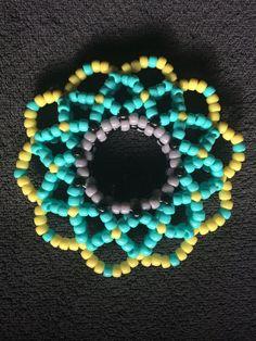 Kandi Cuff  3D EDM bracelet