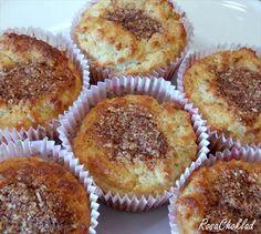 LCHF-Recept: Kanelbullemuffins
