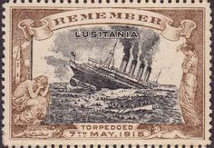Propaganda Poster of the Lusitania Lusitania was  a British passenger ship