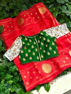 Indian Attire, Indian Outfits, White Saree Blouse, Designer Silk Sarees, Saree Trends, Designer Blouse Patterns, Elegant Saree, Saree Look, Indian Beauty Saree
