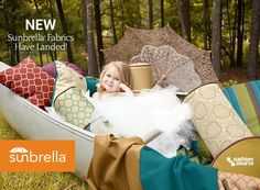 How exciting! NEW Sunbrella fabrics are now available! Check out the new colors and patterns!