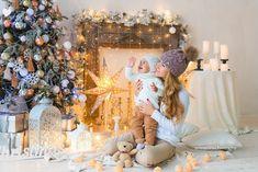 Семейные фотосессии в студии Baby Christmas Photos, Xmas Photos, Christmas Portraits, Christmas Minis, Family Christmas, Family Photos, Family Portraits, Photography Mini Sessions, Children Photography