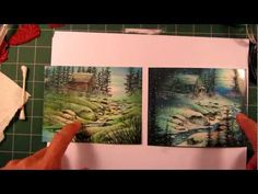 Stampscapes 101: Video 35C. The Snowy Brook. Part 3 of 3. - YouTube