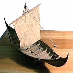 Model of Roskilde Wreck 3 (fore)