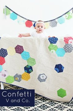 V and Co - Confetti (Hexagons)