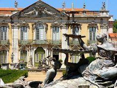 """Palácio de Queluz"". # Queluz, Portugal."