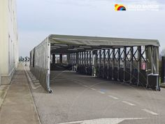The Italian Air Force has chosen the high quality and high #performances of our retractable #tunnels by appointing our Company as Official supplier for a very bespoke project meeting their specific requirements: a retractable Ready #box coming pre-assembled for a quick handling and easy delivery.