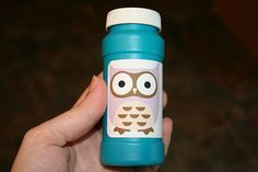 Owl Birthday Party Ideas: Owl Bubbles