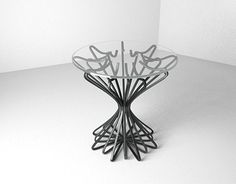 """Check out new work on my @Behance portfolio: """"metal side table"""" http://be.net/gallery/54490845/metal-side-table"""