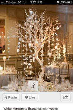 Love this wedding centre piece