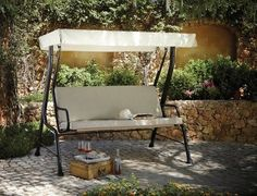Classic Garden Swing Seat | View all Outdoor | George at ASDA