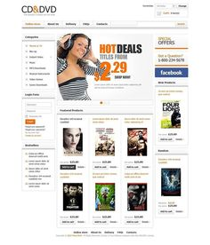 More!   CD & DVD Store VirtueMart Template CLICK HERE! live demo  http://cattemplate.com/template/?go=2ex7mKV
