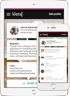Klets - a chat page for your business