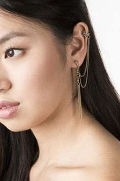 Shop for earrings, studs, hoops and ear cuffs at Ardene. Find sterling silver earrings and large statement earrings with fringe and faux pearls. Statement Earrings, Sterling Silver Earrings, Studs, Pearls, Gold, Jewelry, Jewlery, Jewerly, Stud Earring