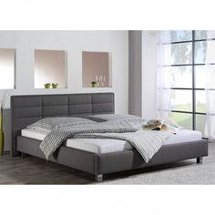 Lit capitonné Parsberg Achetez vos meubles en ligne sur home24 : une grande sélection de produits livrés gratuitement à votre domicile ! Lit Simple, Textiles, Home Bedroom, King Size, Storage, Modern, Furniture, Home Decor, Bedroom Ideas