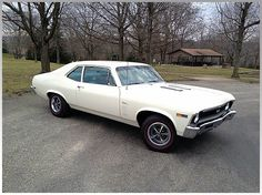 For all you classic Chevy lovers - a 1969 Nova SS.