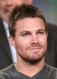 Stephen Amell - The Heroes & Villains of Arrow & The Flash Panel at the CW 2015 Winter TCA Press Tour January 11, 2015