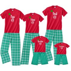 8bac956848 16 Best Personalized Christmas Pajamas images