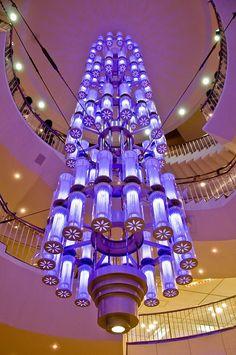 Purple Chandelier Anno: 2009